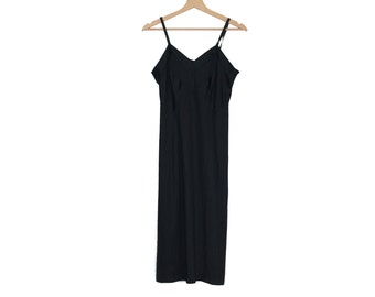 Black Vintage Nightdress / underwear dress