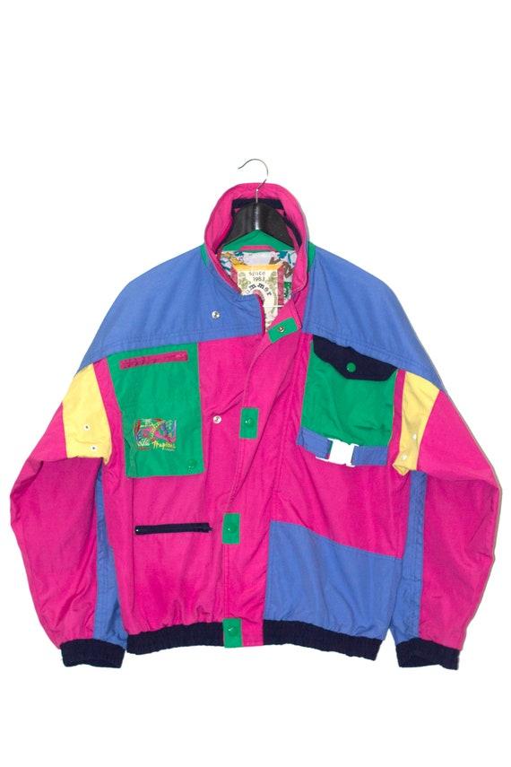 1980's vintage rainbow jacket - image 3
