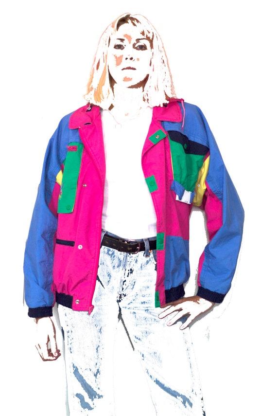 1980's vintage rainbow jacket - image 2