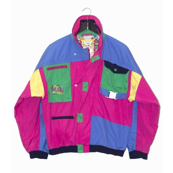 1980's vintage rainbow jacket