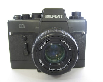 Rare Zenit 18 Soviet 35mm SLR with Zenit MC Zenitar 50mm f2 Lens