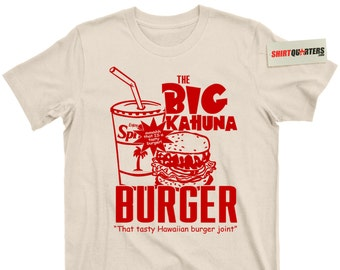 Pulp Fiction 2 Quentin Tarantino Samuel L Jackson Jules Winnfield John Travolta Vincent Vega the Big Kahuna Burger that is a tasty T Shirt