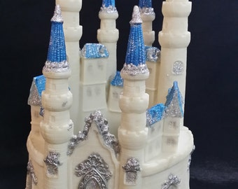 princess castle castle cake topper birthday cake topper castle for cake princess