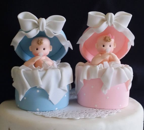 Baby Shower Cake Toppers Baby In Surprise Box Cake Topper Baby Shower Decorations Ready To Pop Baby Shower Gender Reveal Cake Topper