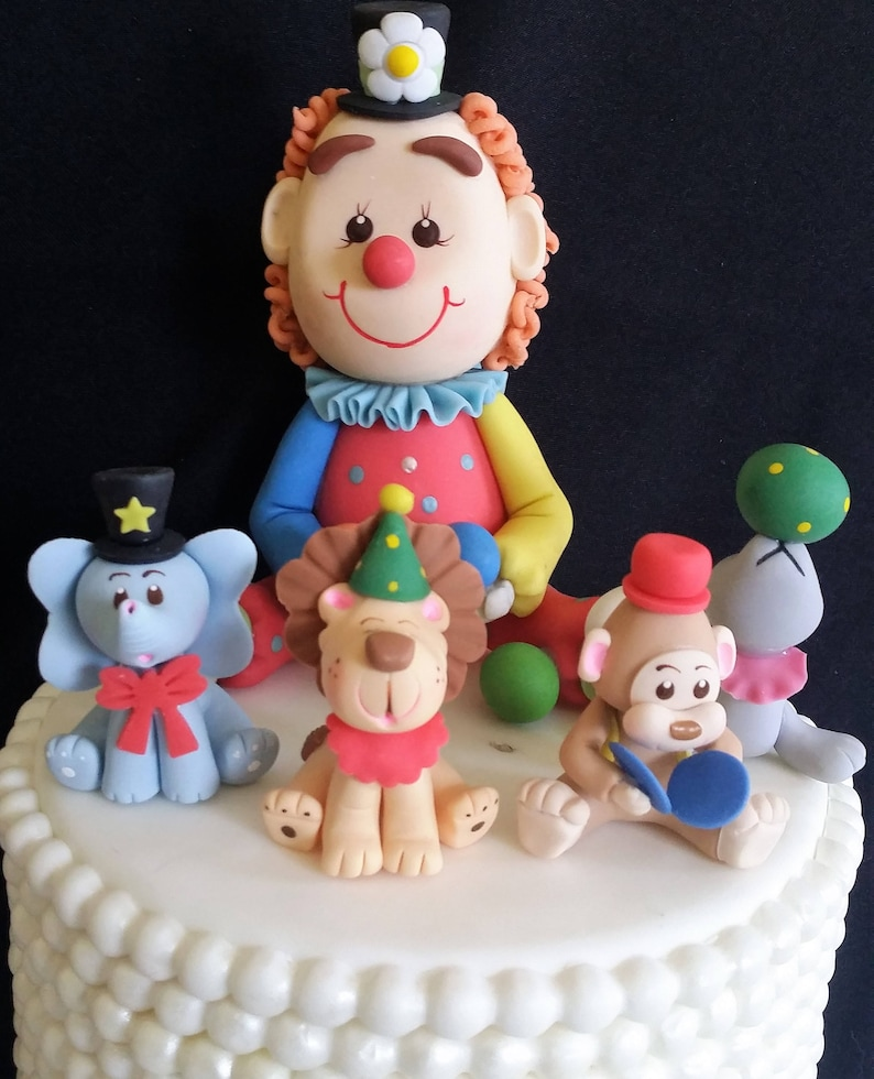 Circus Baby Shower Baby Decoration Boy Birthday Cake Etsy