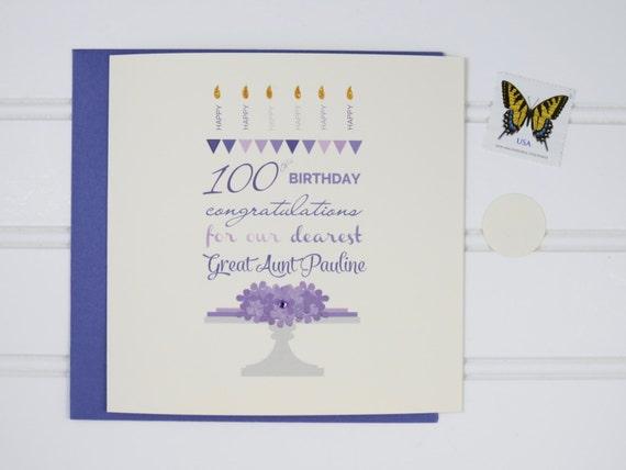Custom Birthday Card 70th 80th