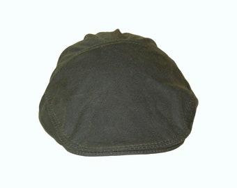 Wax Cotton Men s Flat Cap Hunting Green Casual Hat Shooting 8eff8877db47