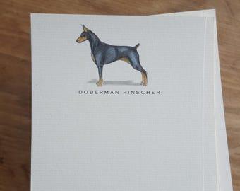 Doberman Pinscher Note Card Set