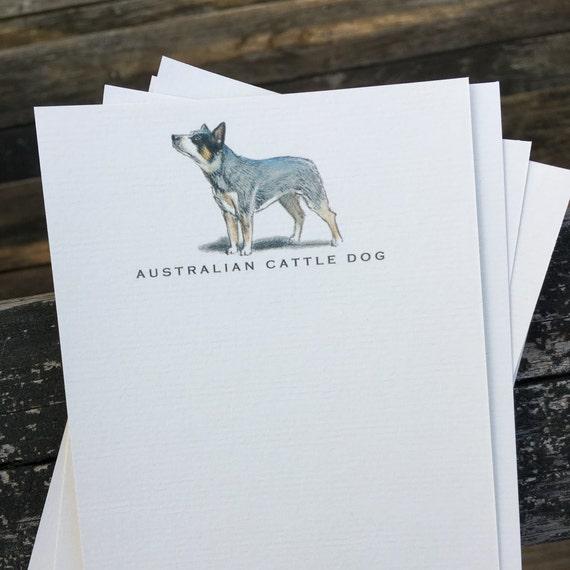 Note Cards Australian Cattle Dog