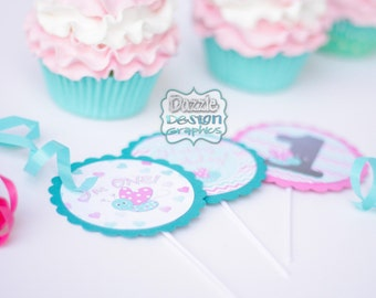 Cupcake Toppers : choose ANY M2M design from our shop, completely assembled - Free Shipping!!