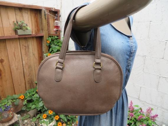 37e267764c3b ... shoulder 4785a fa52a  release date coach 9958 pelham domed bowler bag  brown leather satchel purse etsy 1e840 ad21b