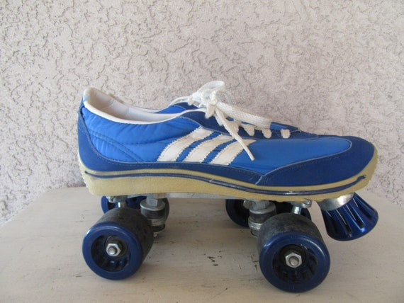 1970s Blue Tennis Shoes Roller Skates Skates Roller Skates Etsy
