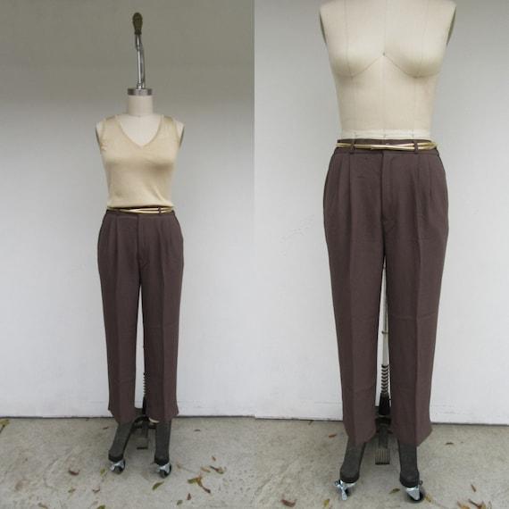 Minimal Silk Top /& Pant SET Raw Blue Silk Boxy Shirt High Waist Lounge Pants Modern Preppy Minimal Womans XS Small