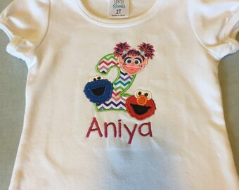 Birthday Applique/Embroidery Shirts