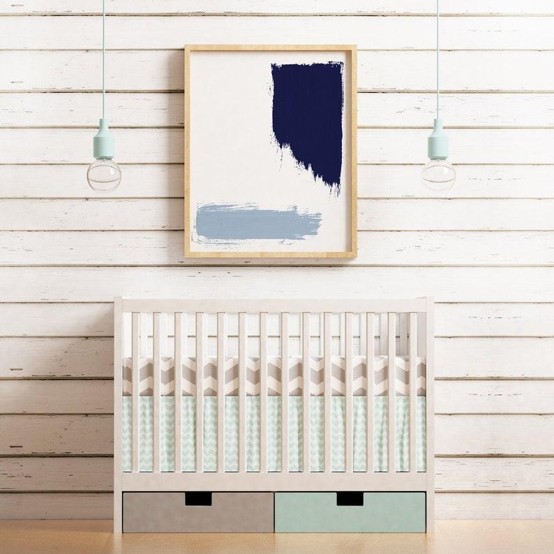 Abstract Painting  Printable Wall Art for Nursery or image 0