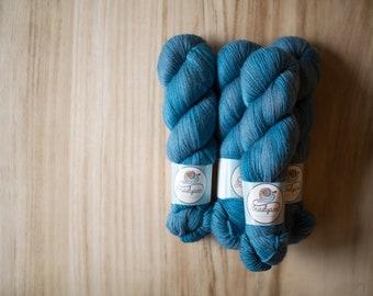 Baby Alpaca+Merino DK (non superwash) - OOAK blue