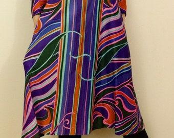 de166a3c1e46 Psychedelic 60's Dress