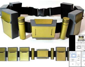 Template for Dawn of Justice Batman Utility Belt