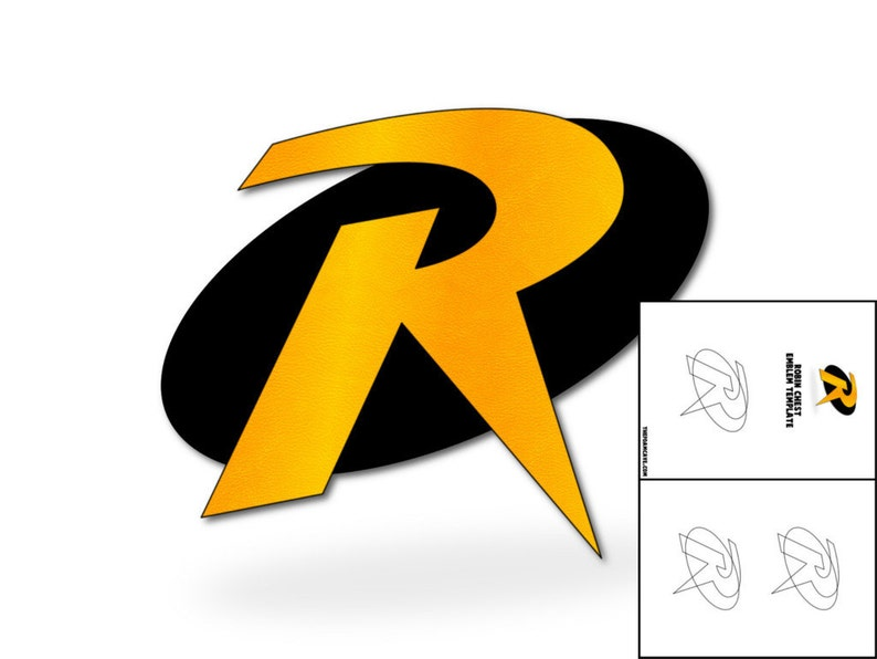 Template For Robin Chest Emblem Etsy