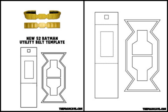 template for new 52 batman utility belt etsy