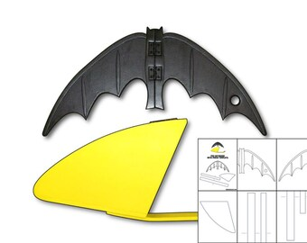 Template for 1966 Batarang and Pouch