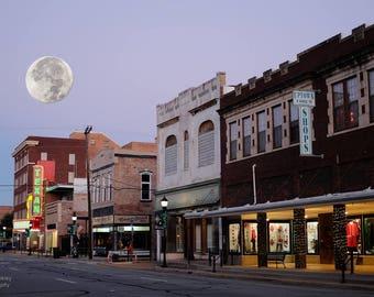 Moon Over Lee Street
