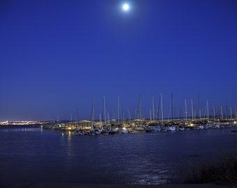 Marina By Moonlight (Color)