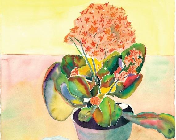 Waiting - Giclee Print by Helen Yamada