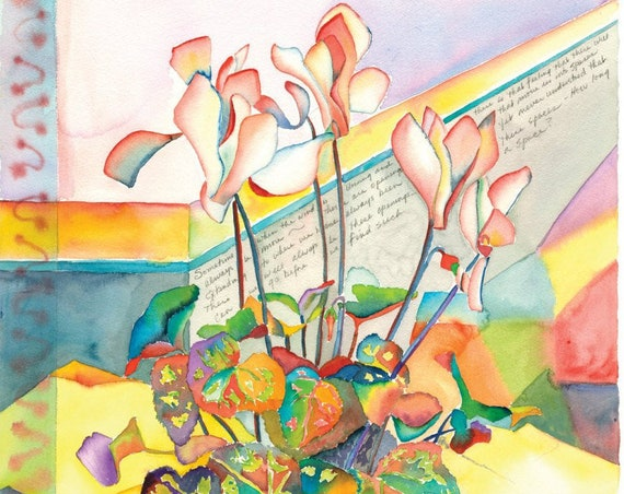 Putting It Together - Giclee Print by Helen Yamada