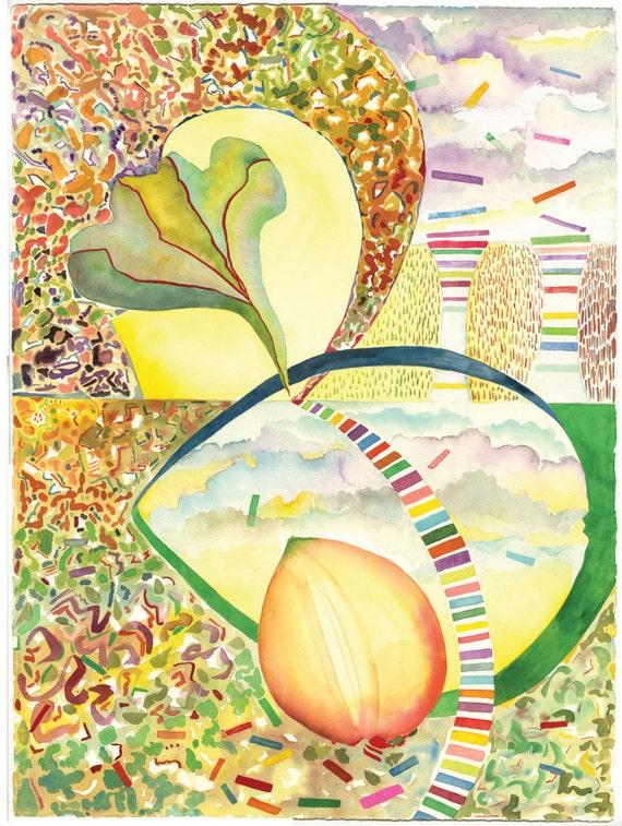 A Corner of Creation -  Giclee print by Helen Yamada