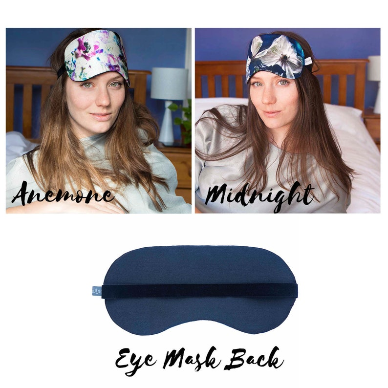 Eye Mask with Dried Lavender Multiple Choices Available