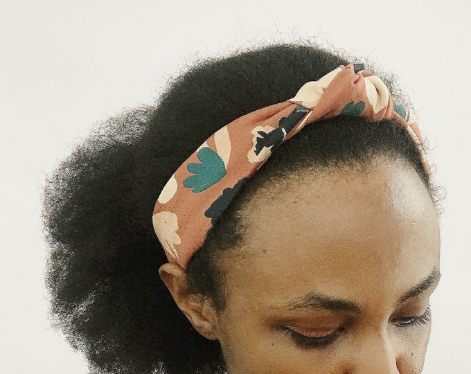 Chestnut Boho Floral Headband