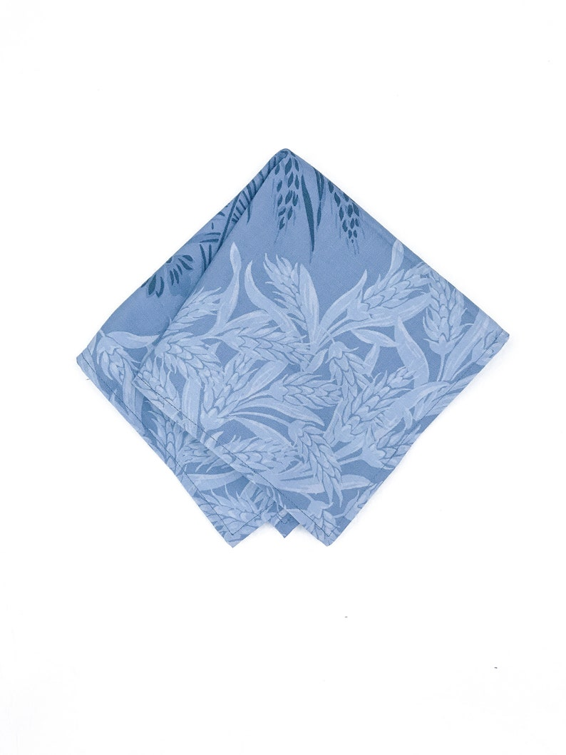 Bespoke Floral Menswear Wedding Groom Pocket Square image 0