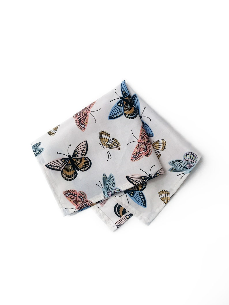 Rifle Paper Co Wedding Butterfly Novelty Print Menswear Pocket image 0