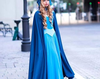 Handmade Princess Aurora costume, Disney Sleeping Beauty inspired costume