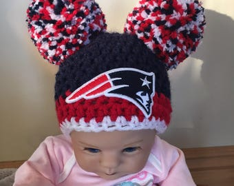 5ad5804c844 Baby girl New England Patriots hat