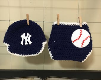 fb952b2a7 Yankees baby hat | Etsy