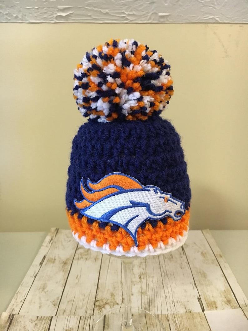 6f6d2575c Denver Broncos football hat Denver Broncos baby hat newborn