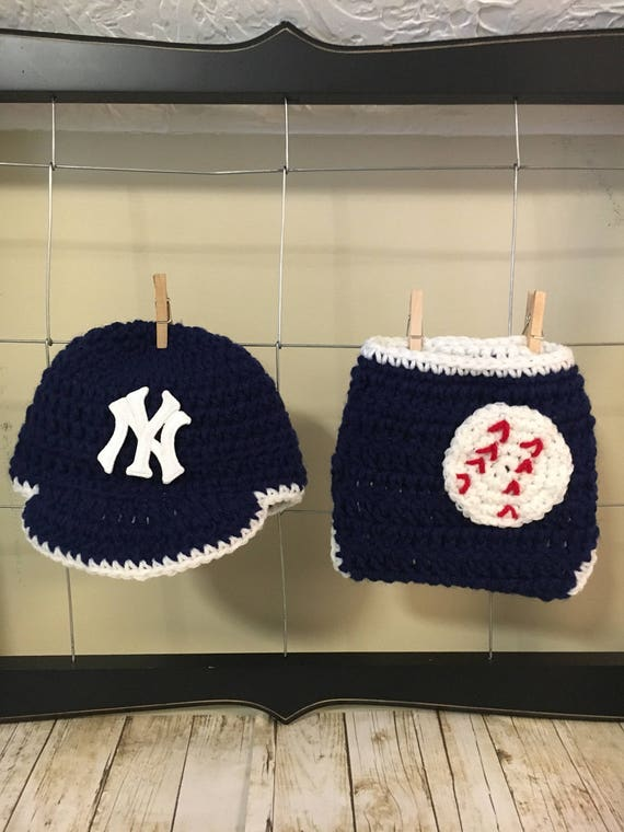29a869074a1 ... cheap newborn new york yankees baseball hat and diaper cover baby etsy  0432c e5fde
