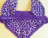 Purple Leopard Cheetah Fl...