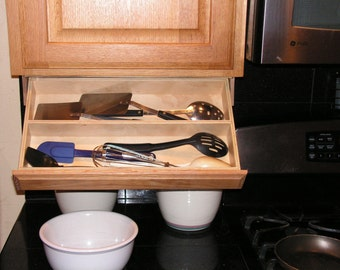 Utensil Drawer Under Cabinet