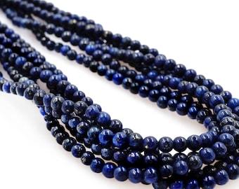 AAA Grade Lapis Lazuli, Lapis, Gemstone Lapis, Crafting Supplies, Jewelry Making, Lapis Strand, Gemstones, Grade AAA Gems, Beading