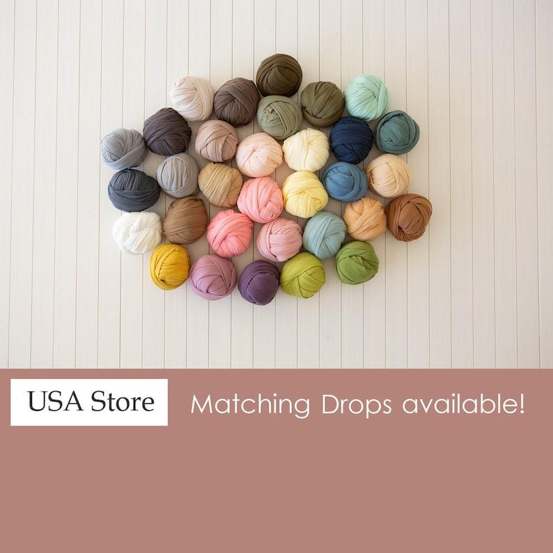 Newborn Stretch Wraps Photography Prop Jersey USA Store image 0