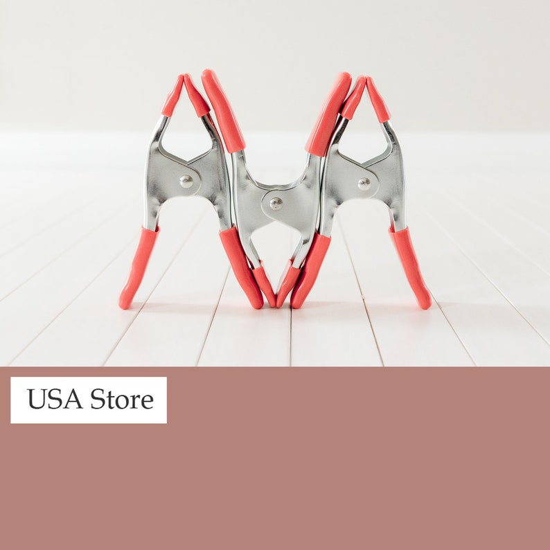Photography Backdrop Clamps Clips Newborn Props USA Store image 0