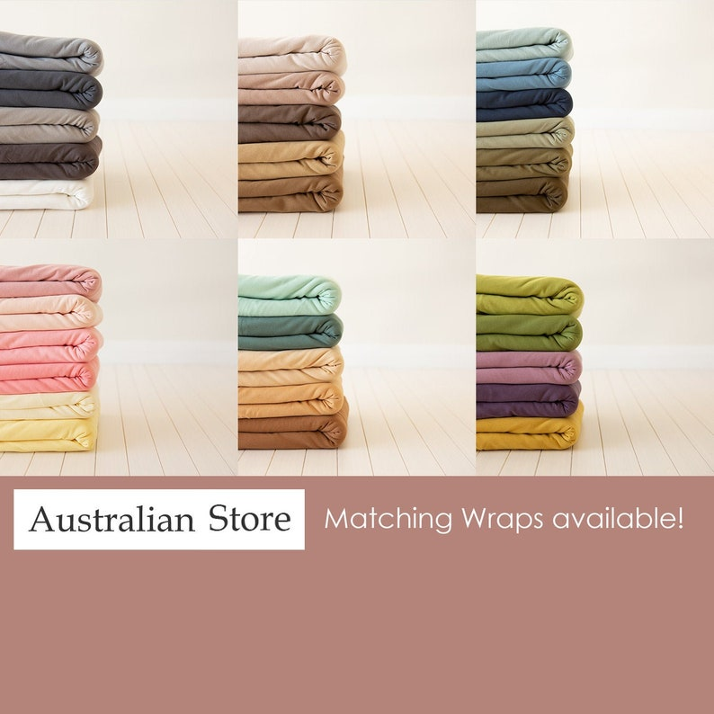 Beanbag Drop Fabric Stretchy Jersey Backdrop Newborn image 0