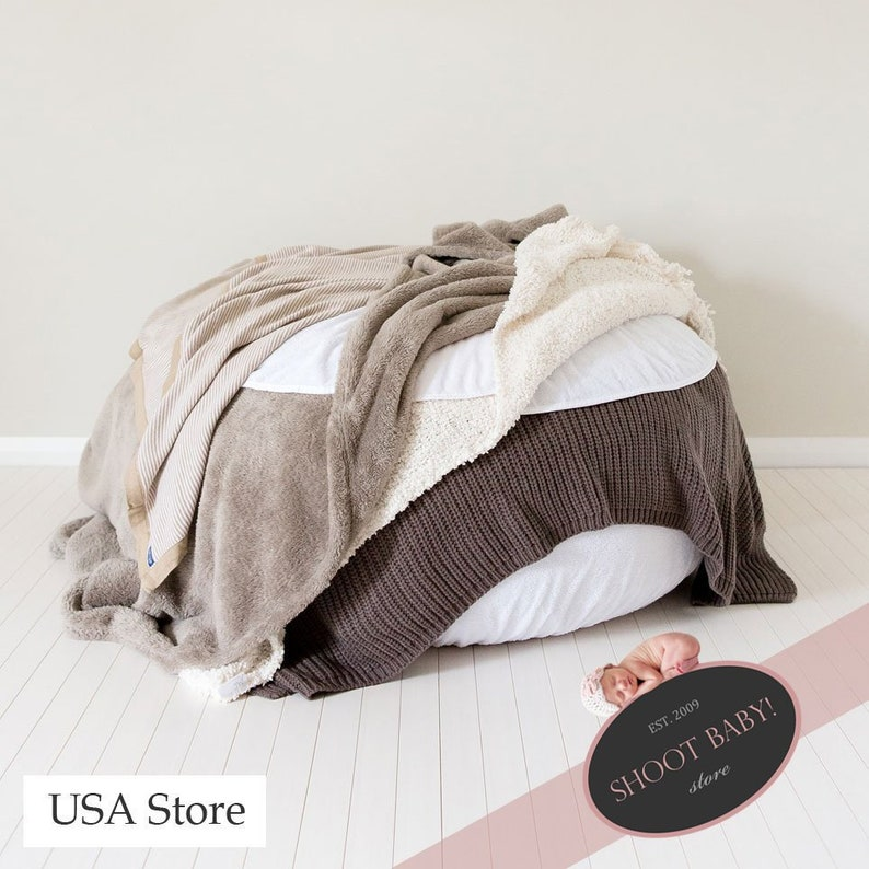 Waterproof Pads for Newborn Posing Beanbag USA Store image 0