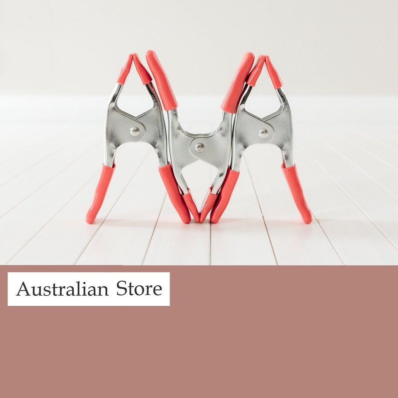 Photography Backdrop Clamps Clips Newborn Props AUSTRALIAN image 0