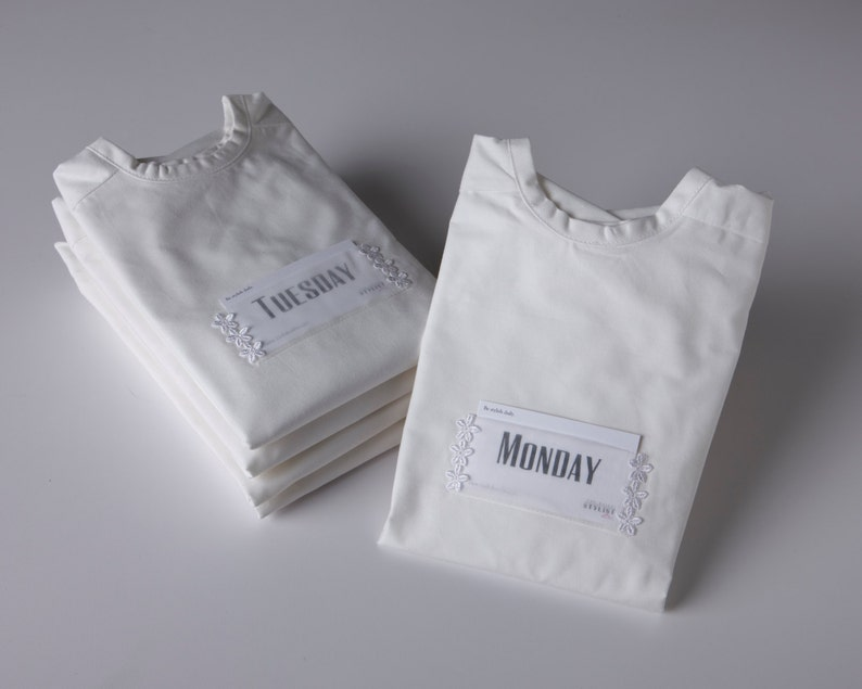 A set of five daily covers to organize your wardrobe for the image 0