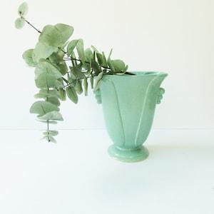 Classic Mid Century Modern Vase - Royal Haeger MCM Vase Striped Bud Vase White Green Pink and Black