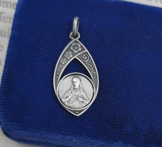 Rare Antique French Medal, Jesus de Montmartre, Sa